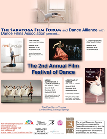 The Second Annual Film Festival of Dance