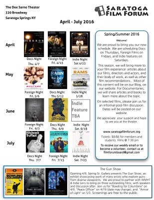 April-July Schedule Flyer Rev. 2